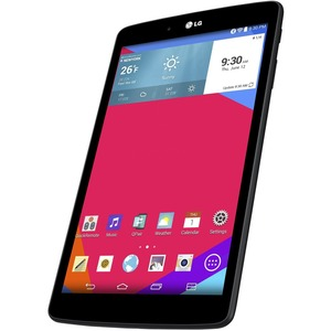 "LG G Pad 8.0 V480 Tablet - 8"" - 1 GB - Qualcomm Snapdragon 400 APQ8026 Quad-core (4 Core) 1.20 GHz - 16 GB - Android 5.0 Lollipop - 1280 x 800 - In-plane Switching (IPS) Technology - Black - 16:10 Aspect Ratio - microSDHC, microSD Memory Card Supported -"