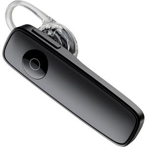 Plantronics Marque 2 M165 Mobile Bluetooth Headset - Mono - Black - Wireless - Bluetooth - 33 ft - Earbud - Monaural - Outer-ear - Yes