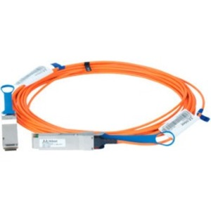 Mellanox Active Fiber Cable, ETH 100GbE, 100Gb/s, QSFP, 20m - Fiber Optic for Network Device, Switch - 12.50 GB/s - 65.62 ft - 1 x QSFP Network - 1 x QSFP Network