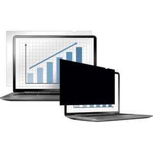 """Fellowes PrivaScreen Blackout Privacy Filter for 14.1"""" Widescreen Laptops"""