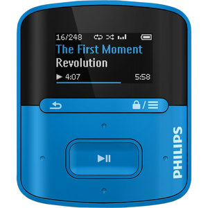 Philips GoGEAR MP3 Player SA4RGA04BN Raga 4GB with FullSound