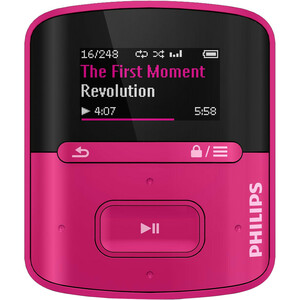 Philips GoGEAR MP3 Player SA4RGA04PN Raga 4GB with FullSound