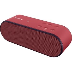 Sony SRS-X2 Wireless Speaker with NFC and Bluetooth, Red
