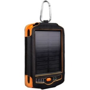 Tough Tested 6000 mAh Solar Battery Charger w/ Dual USB Output (TT-SOLAR)