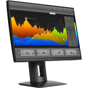 "HP Business Z24nq 23.8"" LED LCD Monitor - 16:9 - 8 ms - 2560 x 1440 - 300 Nit - 500,000:1 - WQHD - DVI - HDMI - DisplayPort - USB - 75 W - Black - ENERGY STAR, EPEAT Silver, TÜV, TCO Certified Edge, CECP, China Energy Label (CEL), REACH"