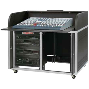 Raxxess Elite ERT-ST Roll Top A/V Cabinet