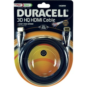 PSA Duracell 3D HDMI High Speed Cable