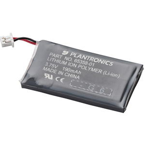 Plantronics Rechargeable Headset Battery - Lithium Ion (Li-Ion) - 3.8 V DC