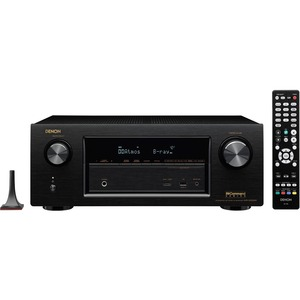 Denon 7.2 Channel Full 4K Ultra HD A/V Receiver with Bluetooth and Wi-Fi