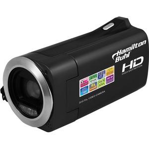 "Hamilton Buhl Digital Camcorder - 2.7"" LCD - Full HD - 16:9 - MOV, Motion JPEG - 8x Digital Zoom - Microphone, Speaker - HDMI - USB - SD - Memory Card"