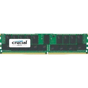 Crucial 128GB DDR4 SDRAM Memory Module - 128 GB (4 x 32 GB) - DDR4 SDRAM - 2400 MHz DDR4-2400/PC4-19200 - 1.20 V - ECC - Registered - 288-pin - DIMM