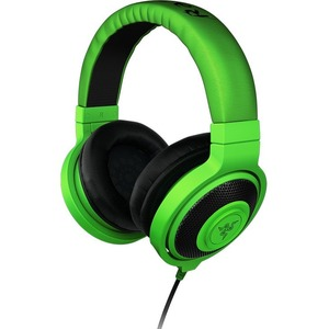 Razer Kraken Analog Music & Gaming Headphones - Neon Red