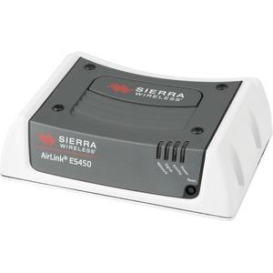 Sierra Wireless AirLink ES450 Cellular Modem/Wireless Router - 4G - LTE 1900, LTE 850, LTE 700, LTE 1900, CDMA 800, CDMA 1900 - LTE, EVDO - 1 x Network Port - USB - Fast Ethernet - VPN Supported