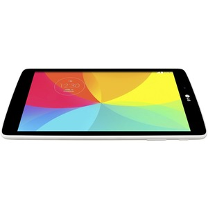 "LG G Pad 8.0 V480 Tablet - 8"" - 1 GB - Qualcomm Snapdragon 400 APQ8026 Quad-core (4 Core) 1.20 GHz - 16 GB - Android 5.0 Lollipop - 1280 x 800 - In-plane Switching (IPS) Technology - White - 16:10 Aspect Ratio - microSD Memory Card Supported - Wireless LA"