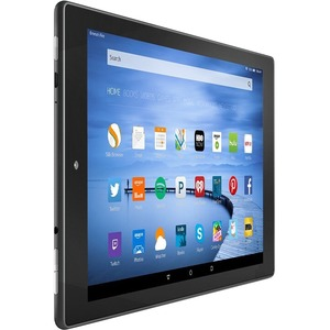 "Amazon Fire HD 10 B00VKIY9RG Tablet - 10.1"" - 1 GB - MediaTek Quad-core (4 Core) 1.50 GHz - 16 GB - Fire OS 5 - 1280 x 800 - In-plane Switching (IPS) Technology - Black - 16:10 Aspect Ratio - microSD Memory Card Supported - Wireless LAN - Bluetooth - Acce"