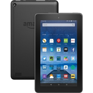 Amazon+Fire+B00TSUGXKE+Tablet+-+7%22+-+1+GB+Quad-core+(4+Core)+1.30+GHz+-+8+GB+-+Fire+OS+5+-+1024+x+600+-+In-plane+Switching+(IPS)+Technology+-+Black+-+128%3a75+Aspect+Ratio+-+microSD+Memory+Card+Supported+-+Wireless+LAN+-+Bluetooth+-+Accelerometer+-+Front+Ca