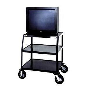 Da-Lite PIXMate TV Cart With Cabinet And Shelf