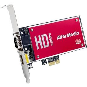 AVerMedia DarkCrystal HD Capture SDK IIC729 - Functions: Video Capturing, Video Recording - PCI Express x1 - 1920 x 1080 - NTSC, PAL - H.264, MPEG-2 - VGA - PC, Linux - Plug-in Card