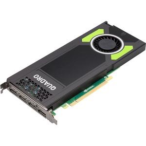 HP Quadro M4000 Graphic Card - 8 GB GDDR5 - PCI Express 3.0 x16 - 256 bit Bus Width - OpenGL 4.5, DirectX 12, DirectCompute 5.0, OpenCL - 4 x DisplayPort - PC