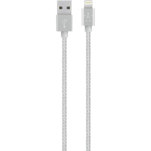 Belkin MIXIT↑ Sync/Charge Lightning/USB Data Transfer Cable - Lightning/USB for iPhone - 3.94 ft - 1 x Lightning Male Proprietary Connector - 1 x Type A Male USB - Pink, Gold