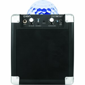 Ion Audio House Party Compact Wireless Speaker System with Built-in Light Show