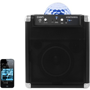 Ion Audio Wireless Speaker System with Party Lights & App Control