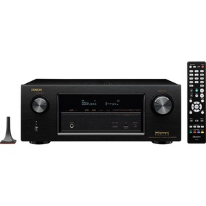 Denon AVR-X3200W 7.2 Channel Full 4K Ultra HD A/V Receiver with Bluetooth and Wi-Fi