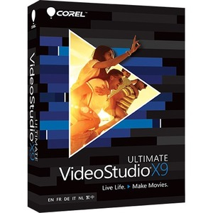 Corel VideoStudio Pro X9 Ultimate Video Editing Software