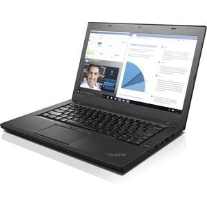"Lenovo ThinkPad T460 20FN003RUS 14"" LCD Notebook - Intel Core i5 (6th Gen) i5-6200U Dual-core (2 Core) 2.30 GHz - 8 GB DDR3L SDRAM - 128 GB SSD - Windows 7 Professional 64-bit (English) upgradable to Windows 10 Pro - 1366 x 768 - Twisted nematic (TN) - Bl"