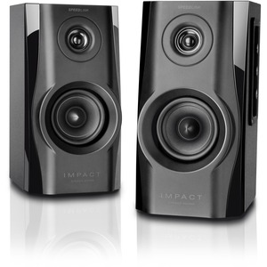 SPEEDLINK IMPACT Stereo Speakers, Black