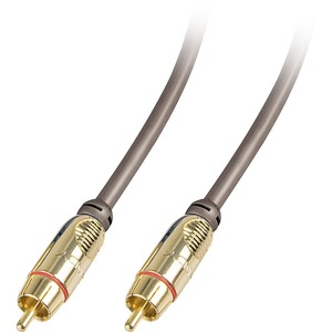 LINDY Premium Gold RCA Coaxial Audio/Video Cable