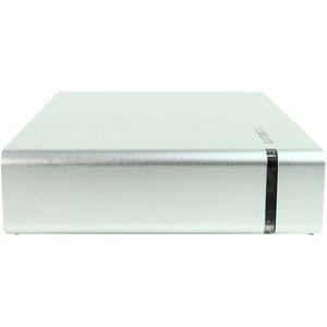 "Rocstor CommanderX EC31 6 TB 3.5"" External Hard Drive - USB 3.1 - SATA - 7200 - Desktop - Silver - 256-bit Encryption Standard"