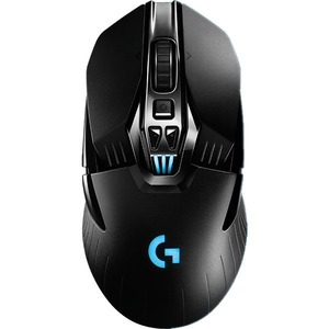 Logitech G900 Chaos Spectrum Professional-Grade Wired/Wireless Gaming Mouse - Optical - Cable/Wireless - Radio Frequency - USB 2.0 - 12000 dpi - Desktop Computer - Tilt Wheel - 11 Button(s) - Symmetrical