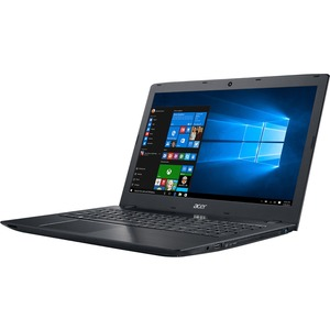 "Acer Aspire E5-575G-53VG 15.6"" LCD Notebook - Intel Core i5 (6th Gen) i5-6200U Dual-core (2 Core) 2.30 GHz - 8 GB DDR4 SDRAM - 256 GB SSD - Windows 10 Home 64-bit - 1920 x 1080 - ComfyView - DVD-Writer - NVIDIA GeForce 940MX with 2 GB - Bluetooth - Front"