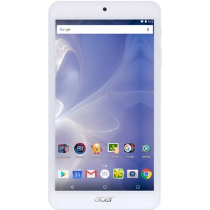 """Acer ICONIA B1-780-K610 16 GB Tablet - 7"""" - In-plane Switching (IPS) Technology - Wireless LAN - MediaTek Cortex A53 MT8163 Quad-core (4 Core) 1.30 GHz - 1 GB DDR3L SDRAM RAM - Android - Slate - 1280 x 720 16:9 Display (LED Backlight) - Bluetooth - microS"""