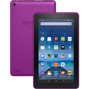 Amazon+Fire+B018Y229OU+Tablet+-+7%22+-+1+GB+Quad-core+(4+Core)+1.30+GHz+-+8+GB+-+Fire+OS+5+-+1024+x+600+-+In-plane+Switching+(IPS)+Technology+-+Magenta+-+128%3a75+Aspect+Ratio+-+microSD+Memory+Card+Supported+-+Wireless+LAN+-+Bluetooth+-+Accelerometer+-+Front