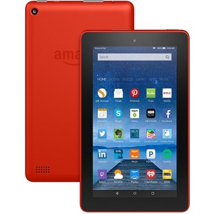 Amazon+Fire+B018Y23P7K+Tablet+-+7%22+-+1+GB+Quad-core+(4+Core)+1.30+GHz+-+8+GB+-+Fire+OS+5+-+1024+x+600+-+In-plane+Switching+(IPS)+Technology+-+Tangerine+-+128%3a75+Aspect+Ratio+-+microSD+Memory+Card+Supported+-+Wireless+LAN+-+Bluetooth+-+Accelerometer+-+Fron