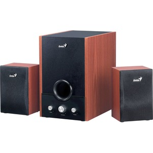 Genius Classical Wood Subwoofer Speaker System