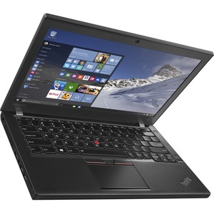 "Lenovo ThinkPad X260 20F60093US 12.5"" (In-plane Switching (IPS) Technology) Ultrabook - Intel Core i5 (6th Gen) i5-6300U Dual-core (2 Core) 2.40 GHz - Black - 8 GB DDR4 SDRAM RAM - 256 GB SSD - Intel HD Graphics 520 DDR4 SDRAM - Windows 7 Professional 64-"