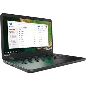 "Lenovo Chromebook 80US0003US 14"" 16:9 Chromebook - 1366 x 768 - Intel Celeron N3060 Dual-core (2 Core) 1.60 GHz - 2 GB - 16 GB Flash Memory Capacity - Chrome OS - Black - Intel HD Graphics 400 - Bluetooth - English (US) Keyboard - Front Camera/Webcam - IE"