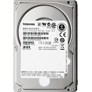 """Toshiba MBF2-RC 600GB SAS 2.5"""" Internal Hard Drive"""