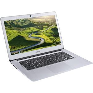 "Acer Aspire CB3-431-C0D0 14"" LED (ComfyView) Chromebook - Intel Celeron N3160 Quad-core (4 Core) 1.60 GHz - 4 GB LPDDR3 RAM - 16 GB Flash Memory Capacity - Intel HD Graphics 400 LPDDR3 - Chrome OS - 1366 x 768 16:9 Display - Bluetooth - IEEE 802.11a/b/g/n"