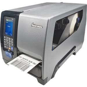"Honeywell PM43 Thermal Transfer Printer - Monochrome - Desktop - Label Print - 4.09"" Print Width - 9.84 in/s Mono - 406 dpi - 128 MB - Wireless LAN - USB - Serial - Ethernet - Label, Tag, Linered Label, Linerless, Roll Fed, Fanfold, Gap, Notch, Black Mark"