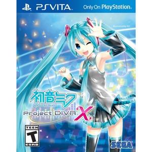 Sega Hatsune Miku: Project DIVA X - PS Vita