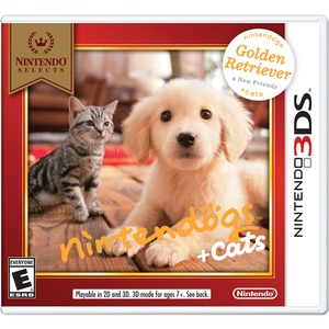 Nintendo Selects Nintendogs + Cats: Golden Retriever & New Friends, Nintendo 3DS