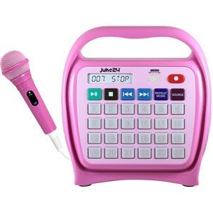 Hamilton Buhl Juke24 Portable Digital Jukebox with CD Player & Karaoke, Pink - Music - Pink