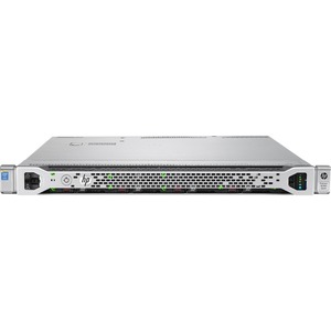 HP ProLiant DL360 G9 1U Rack Server - 1 x Intel Xeon E5-2620 v4 Octa-core (8 Core) 2.10 GHz - 2 Processor Support - 16 GB Standard DDR4 SDRAM Maximum RAM - 12Gb/s SAS RAID Supported Controller - Gigabit Ethernet - RAID Level: 0, 1, 5, 6, 10, 50, 60, 10 AD