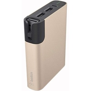 Belkin Rechargeable Li-Ion Battery Pack - Lithium Ion (Li-Ion) - Gold