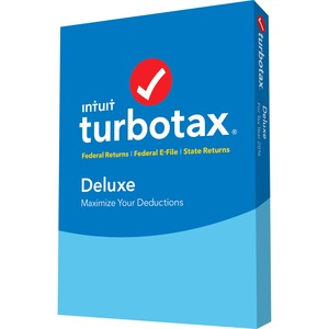 Intuit TurboTax 2016 Deluxe for Tax With E-file 2016