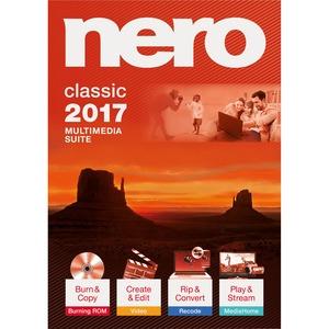 Nero 2017 Classic - CD/DVD Burning - PC - Bilingual